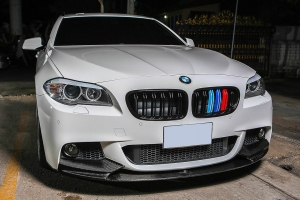 BMW 5er F10,F11 echt Carbon Frontspoilierlippe Spoilerlippe Performance